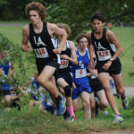 Eagle cross country teams win at home