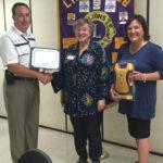 Damariscotta-Newcastle Lions Club Donates Defibrillator to Mobius