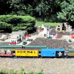 Model-Railroad Garden Open for Train Buffs