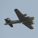 WWII-era Bomber Flies Over Lincoln County