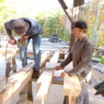 Timber-Frame Construction Workshop at HVNC