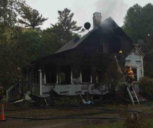 Two Dead in Boothbay Fire