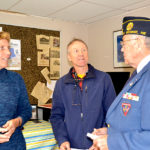 Flag Raised at Wiscasset Airport