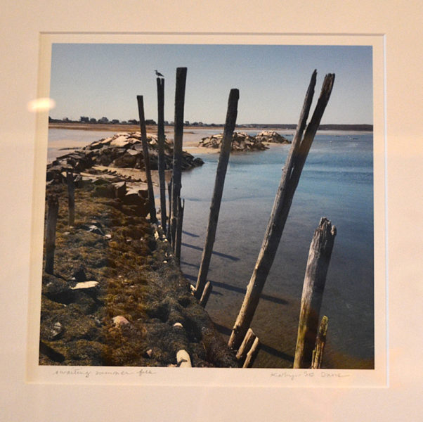 "Kathryn Simpson Bean Davis' photograph ""Awaiting Summer Folk."" (Christine LaPado-Breglia photo)"