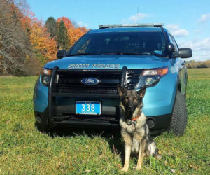 State Police Dog Helps Rescue Dresden Woman