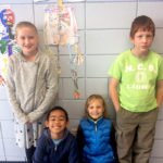 NCS Fourth-Graders Learn About Skeletons