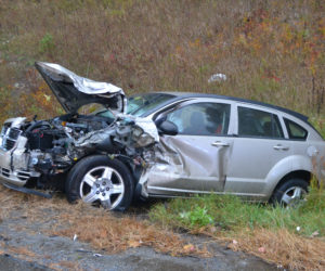 Collision Totals Car on Route 1 in Newcastle