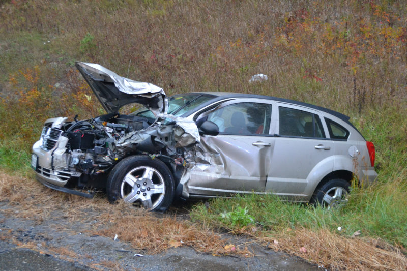 Collision Totals Car On Route 1 In Newcastle The Lincoln County News
