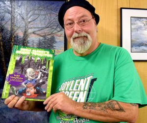 Newcastle Artist Publishes Zombie Coloring Book for Adults