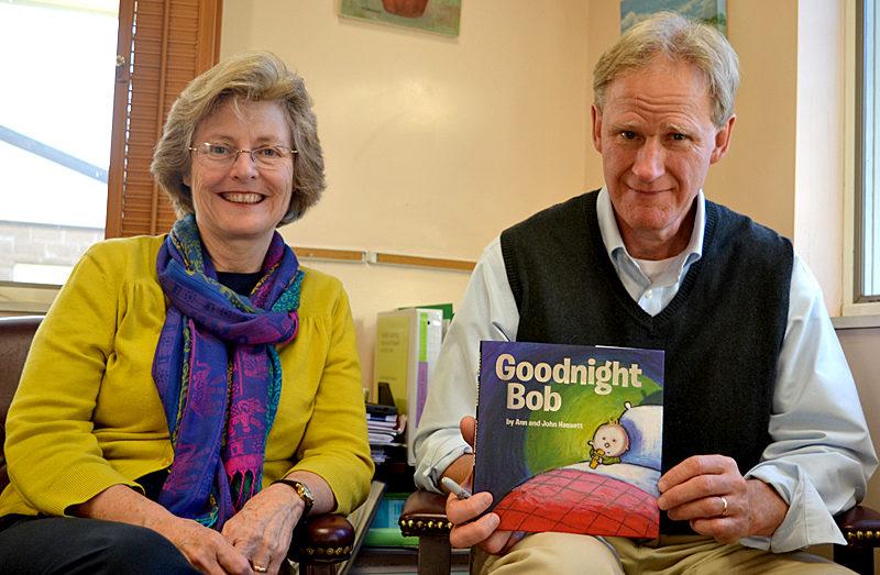 "Ann and John Hassett's children's bedtime book ""Goodnight Bob"" was released by Albert Whitman & Co. in September. (Christine LaPado-Breglia photo)"