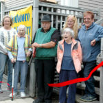 Waldoboro Food Pantry Cuts Ribbon at New Location