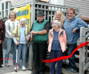 Waldoboro Food Pantry Cuts Ribbon at New Location
