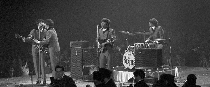 "A still from ""The Beatles: Eight Days a Week – The Touring Years."""