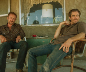 "Ben Foster (left) and Chris Pine in ""Hell or High Water."""