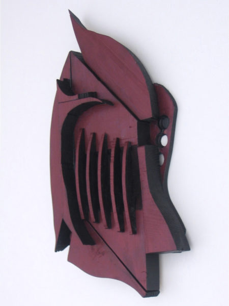 "The Friday, Oct. 21 Damariscotta-Newcastle (Twin Villages) ArtWalk will include the found-object assemblage art of Bernice Masse Rosenthal, including this ""Roman Helmet"" at the Pemaquid Watershed Association office-gallery, 584 Main St., Damariscotta. The office generally is open weekdays from 9 a.m. to 5 p.m. and will be open until 7 p.m. for the ArtWalk."