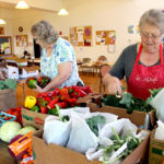 Fresh Produce at Wiscasset Food Pantry