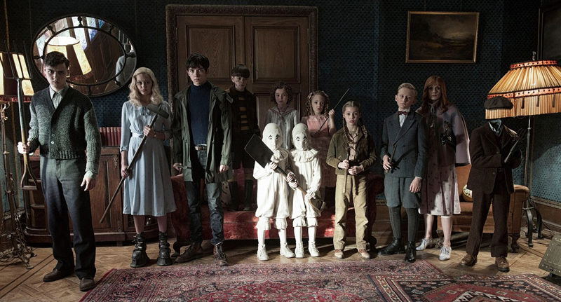 """A scene from Tim Burton's new film, """"Miss Peregrine's Home For Peculiar Children,"""" PG-13, playing this weekend at The Harbor Theatre, Boothbay Harbor."""