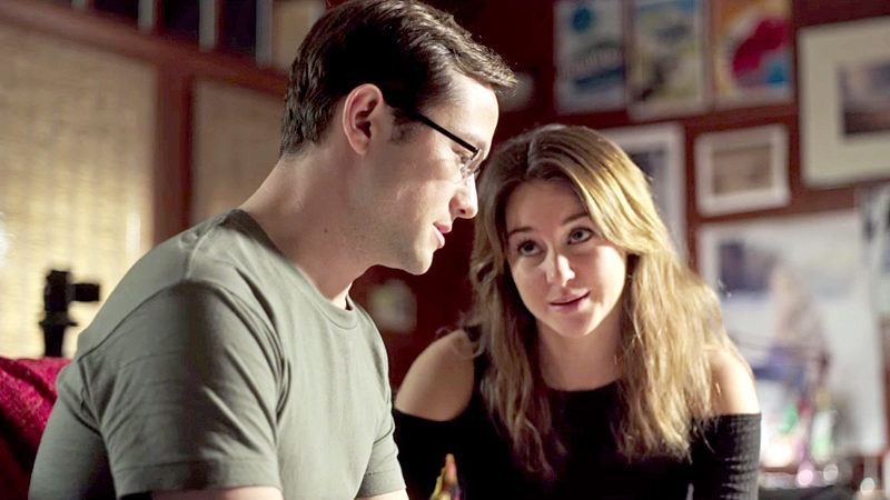 "Joseph Gordon-Levitt and Shailene Woodley star in Oliver Stone's new biographical drama, ""Snowden,"" playing this weekend at The Harbor Theatre, Boothbay Harbor."