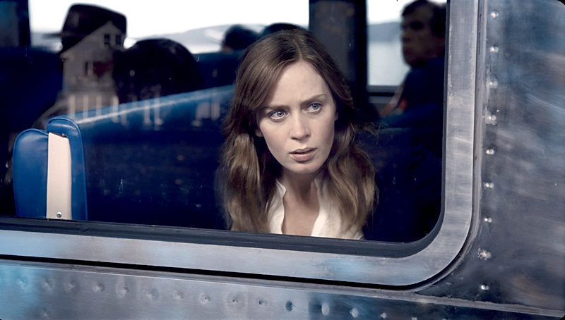 "Emily Blunt stars in the taut psychological thriller ""The Girl on the Train"" this weekend at The Harbor Theatre, Boothbay Harbor."