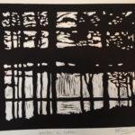 Local Printmaker's New Book on Display in Damariscotta