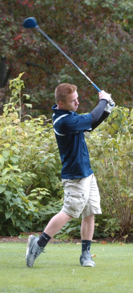 Panther golfer Brent Stewart shot an 89 to qualify for the State Class B golf championships. (Carrie Reynolds photo)
