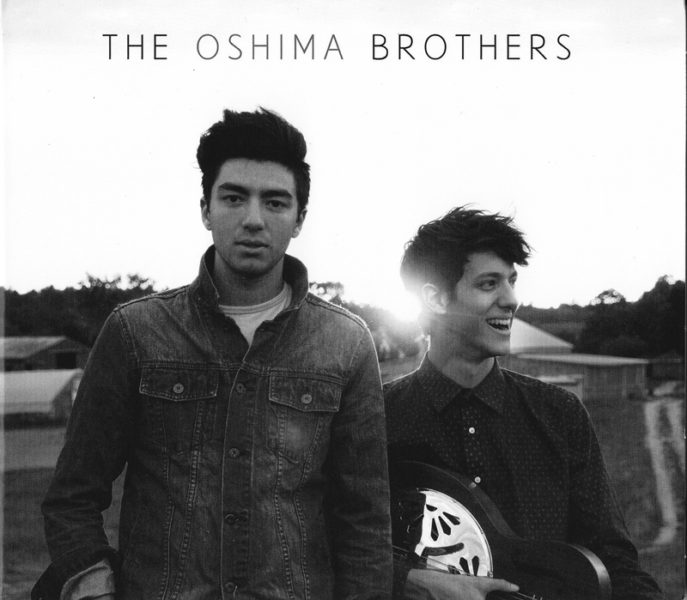 The cover of The Oshima Brothers' debut CD.