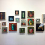 Small Paintings by Isabella Corwin at Bristol Area Library