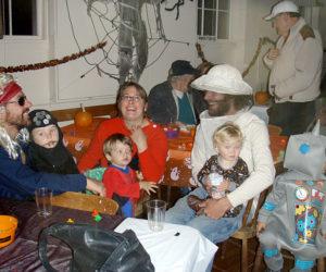 Halloween fun on Westport Island.