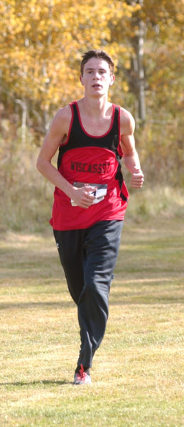 casset's Brandon Goud placed fourth at the Mt. Valley Conference championships. (Carrie Reynolds photo)