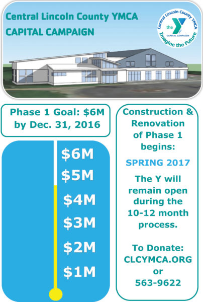 The community phase of the CLC YMCA's capital campaign is underway.
