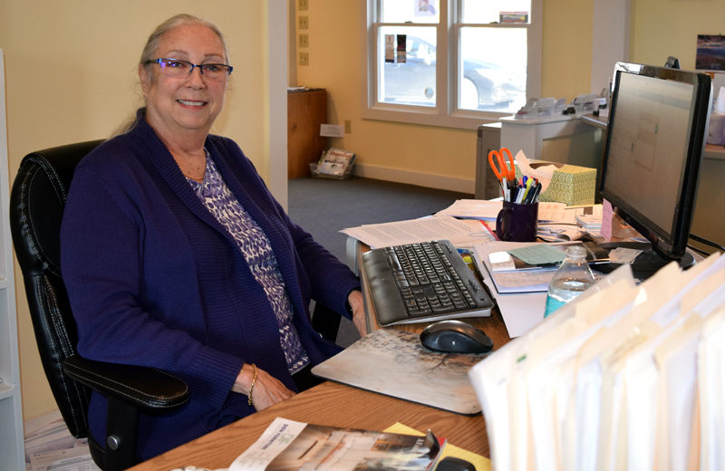 Damariscotta Region Chamber of Commerce Executive Director Toni Crouch will retire Dec. 31. (J.W. Oliver photo)