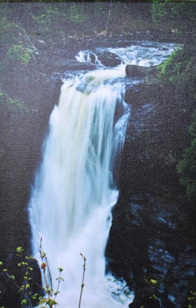 "Kate Coupland's ""Moxie Falls - The Forks, ME."" (Christine LaPado-Breglia photo)"