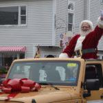 Santa Hears Christmas Wishes in Damariscotta