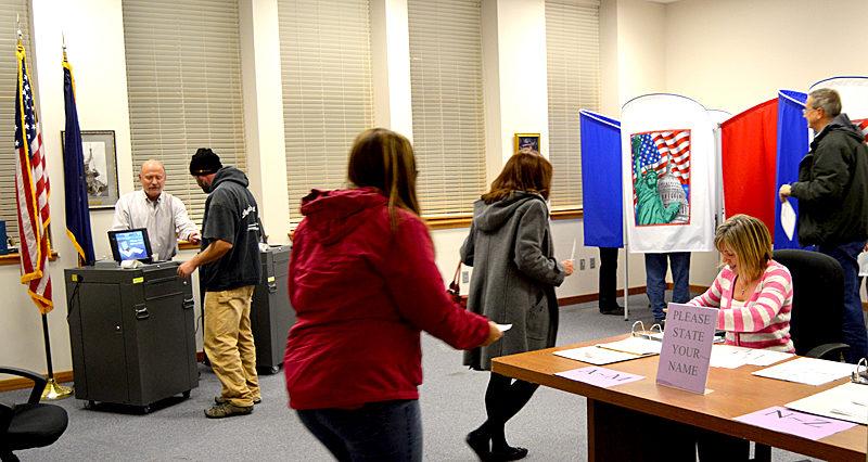 Damariscotta goes to the polls on Election Day, Tuesday, Nov. 8. (Greg Latimer photo)