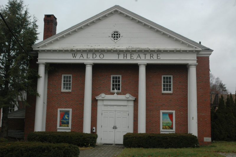 The Waldo Theatre Board of Directors will hold a fundraiser and send out an annual appeal in the weeks ahead as it works to reopen the historic venue in downtown Waldoboro. (Alexander Violo photo)