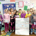 WES Kindergartners Earn 'Brag Tags'