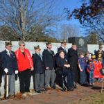 Veterans Day Celebrated By All Ages in Wiscasset