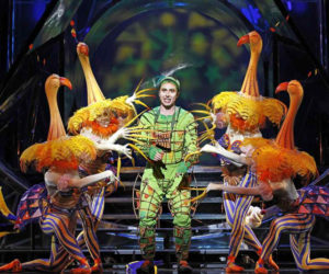 "Nathan Gunn as Papageno in ""The Magic Flute."""