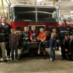 Cub Scouts Tour Fire Station