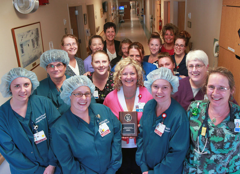 Teamwork and dedication are the key to low infection rates at LincolnHealth.