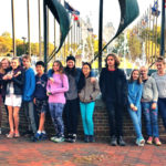 Montessori Middle-School Students Take History Tour