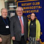 Rotary Welcomes Speaker Michael McGovern