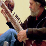 Sitarist Pontbriand at River Arts