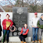 Wiscasset NHS Members Perform Service Projects for Vets