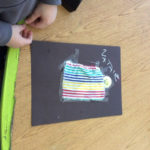 Wiscasset Elementary Kindergartners Have Fun with 'Quilt Story'