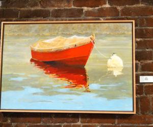 """Betty,"" an oil painting by Lee Rowan. (Christine LaPado-Breglia photo)"