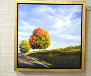 "Will Kefauver's lovely ""Almost Autumn."" (Christine LaPado-Breglia photo)"