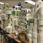 GSB Drive Brings in 600 Rolls of Toilet Paper