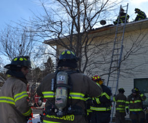 Local Fire Departments Respond to Jefferson Chimney Fire