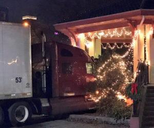 Jefferson Trucker Crashes into Gazebo in New Jersey